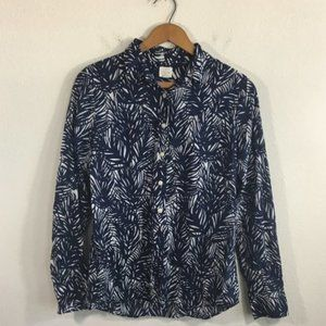 J. Crew Women's The Perfect Shirt Blouse Sz. S